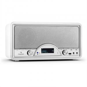Virginia WH DAB/DAB+ Radio cyfrowe Bluetooth USB UKW AUX MP3 białe