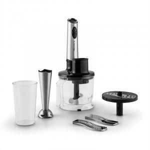 Stahlbaronesse Stabmixer Küchenmaschine 800W 1,1 PS Edelstahl