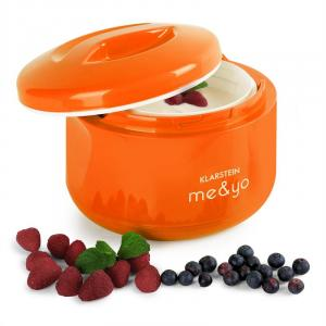 Me & Yo Yoghurt Maker 1 Litre BPA-Free Orange
