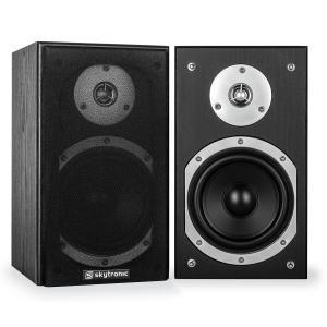 SHFB55B coppia diffusori da scaffale 140W neri