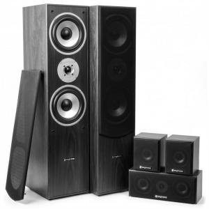 Sistema Home Cinema 5.0 335W RMS Negro
