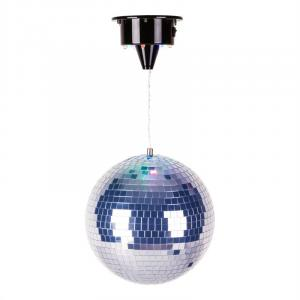 "LED Lighted 8"" Disco Ball 20 cm"