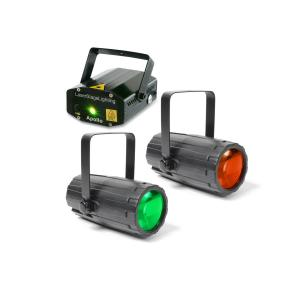 Light Package 2 Disco Lighting Effects Set 2x Light Effects 1x Laser