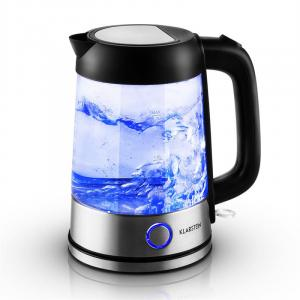 Deep Blue Electric Kettle 1.7L 2200W LED Lighting