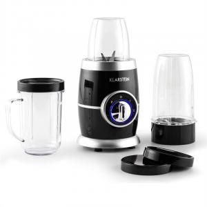 Juicinho Nero mixer-set smoothiemaker compact blender 220W 8 delar Svart
