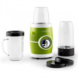 Juicinho Verde mixeur sur pied smoothies 220W set 8 éléments -vert Vert
