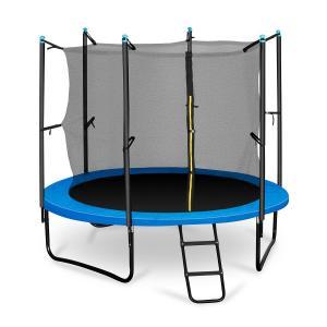 Rocketboy 250 trampoliini 250 cm turvaverkko, tikkaat, sininen sininen | 250 cm