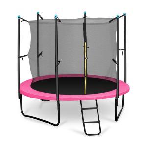 Rocketgirl 250 trampoliini 250 cm turvaverkko, tikkaat, pinkki pinkki | 250 cm