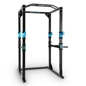 Tremendour Plus power rack homegym staal Zwart | Zonder lat pull