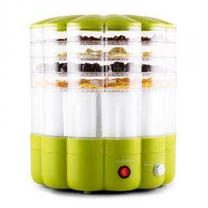 YoFruit frukttork 5 nivåer med yoghurttillverkare grön Grön