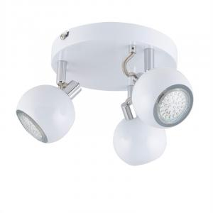 Morgen 3 Spot Lamp LED 3x3W 250lm Rotatable Swivel Chrome White