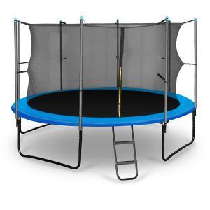 Rocketboy 366 trampoliini 366 cm turvaverkko, tikkaat, sininen sininen | 366 cm