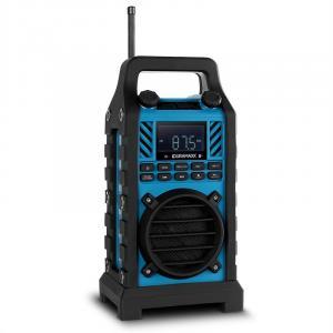 Baustellenshero głośnik budowlany/plenerowy DAB/DAB+ MP3 USB SD AUX Bluetooth