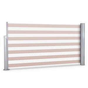 Bari 316 Seitenmarkise Seitenrollo 300x160cm Aluminium creme/weiß Cremeweiß | 160 cm