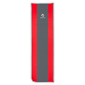 Goodrest 3 Sleeping Mat Air Mattress 3cm Thick Self-Inflating Red-Grey 3 cm
