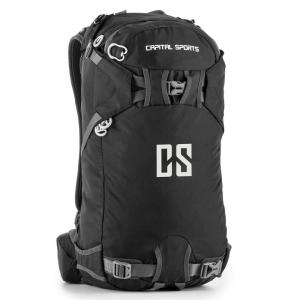 CS 30 Black Backpack Sports Leisure 30l Waterproof Nylon Black Black