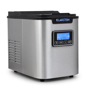 Icemeister Ice Maker 12kg / 24h Stainless Steel Black