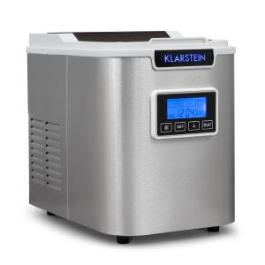 ICE6 Icemeister Ice Maker 12kg / 24h Stainless Steel White White