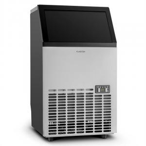 Powericer ECO Eiswürfelmaschine 400W 45kg/Tag Timer Edelstahl