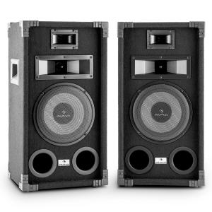 "PA-800 Full-Range PA Speaker Pair 8"" Subwoofer 800W Max 20 cm (8"")"