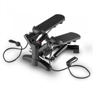 Powersteps Twist Stepper with Expander Arm Bands Black Black