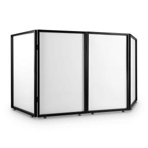 Facade 4 Portable DJ Booth Screen Metal Frame 4 Segments 2 Pcs.
