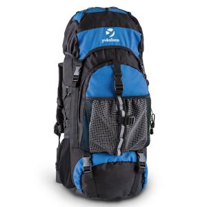Thurwieser BU Trekking Backpack 55L Waterproof Nylon Blue Blue