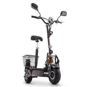 Tank Type 800TT Electric Scooter 36V 800W 40 km / h 25 km Street Licensed Black
