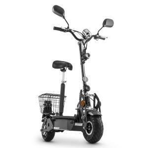 TankType 800TT Electric Scooter 36V 800W 40 km / h 25 km Roadworthy Silver