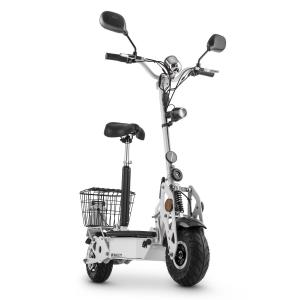 TankType 800TT Electric Scooter 36V 800W 40 km / h 25 km Roadworthy White