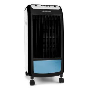 Carribean Blue 3-in-1 Luftkühler Ventilator Luftbefeuchter 402 m3/h | 70 Watt | 4 Liter | 3 Geschwindigkeiten | Oszillation | mobil Weiß