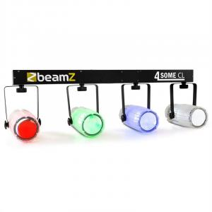 4-Some Clear Light Set LED RGBW DMX Microphone