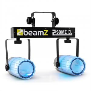 2-Some Clear Light Set RGBAW-LED Microphone
