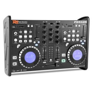 PDX125 Dual-DJ-Player-Controller-2-kanaals-mixer CD USB SD MP3
