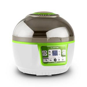 VirAir Turbo Hot Air Fryer Grilling and baking 1400W Green White Green