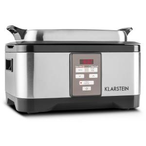 Tastemaker Sous-Vide Slow Cooker 6L 550W Stainless Steel Silver Silver