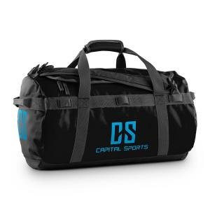 Travel S Sport Bag 45L Duffle Backpack Waterproof Black Black | 45 Ltr