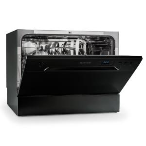 Amazonia 6 Table Dishwasher A+ 1380W 6 Place Settings 49 dB Black Black