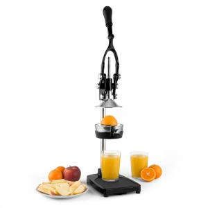 TriJuicer Lever Action Juicer Chip Cutter Fruit Slicer Black Black