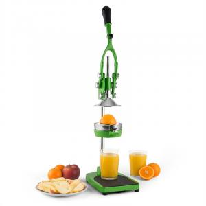 TriJuicer Lever Action Juicer Chip Cutter Fruit Slicer Green Green