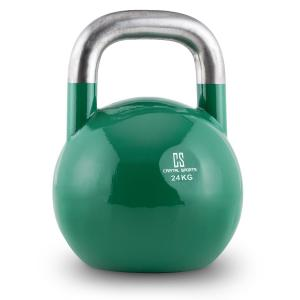Compket 24 Steel Competition Kettlebell 24 kg Green 24 kg
