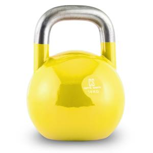 Compket 16 Steel Competition Kettlebell 16 kg Yellow 16 kg
