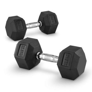 Hexbell Pair of Dumbbells 22.5 kg 2x 22.5 kg