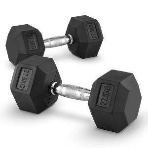 Hexbell 27.5 Pair of Dumbbells 27.5 kg 2x 27.5 kg