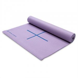 Yoga Mat Exercise Mat 173 x 60 cm Purple Incl. Bag Purple