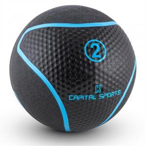 Medba 2 Medicine Ball 2kg Rubber Black 2 kg