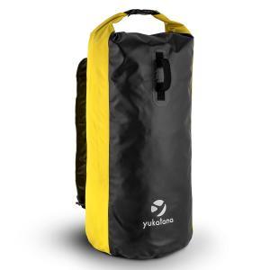Quintona 70Y Trekking-Ryggsäck 70 l vattentät lukttät vindtät Gul