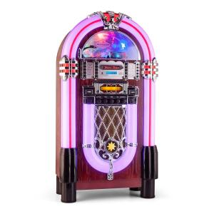 Graceland XXL BT Jukebox Aparelhagem Bluetooth USB SD AUX CD AM/FM CD-Player / Bluetooth
