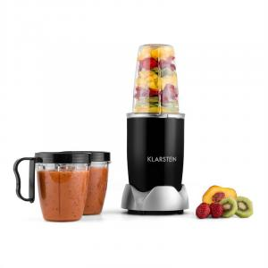 Nutrirocket Mixer Smoothiemaker Multifunctioneel 10-dlg 700 W zwart Zwart
