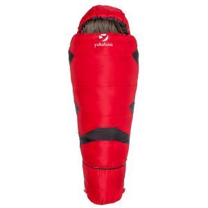 Shipton śpiwór-mumia dla dzieci regulowany 300g/m² Czerwony